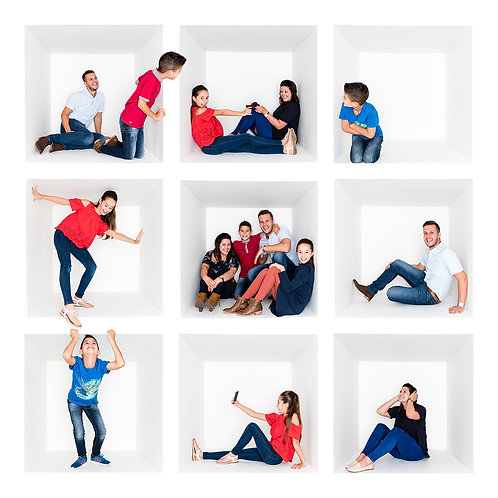 Family BOX photoshoot