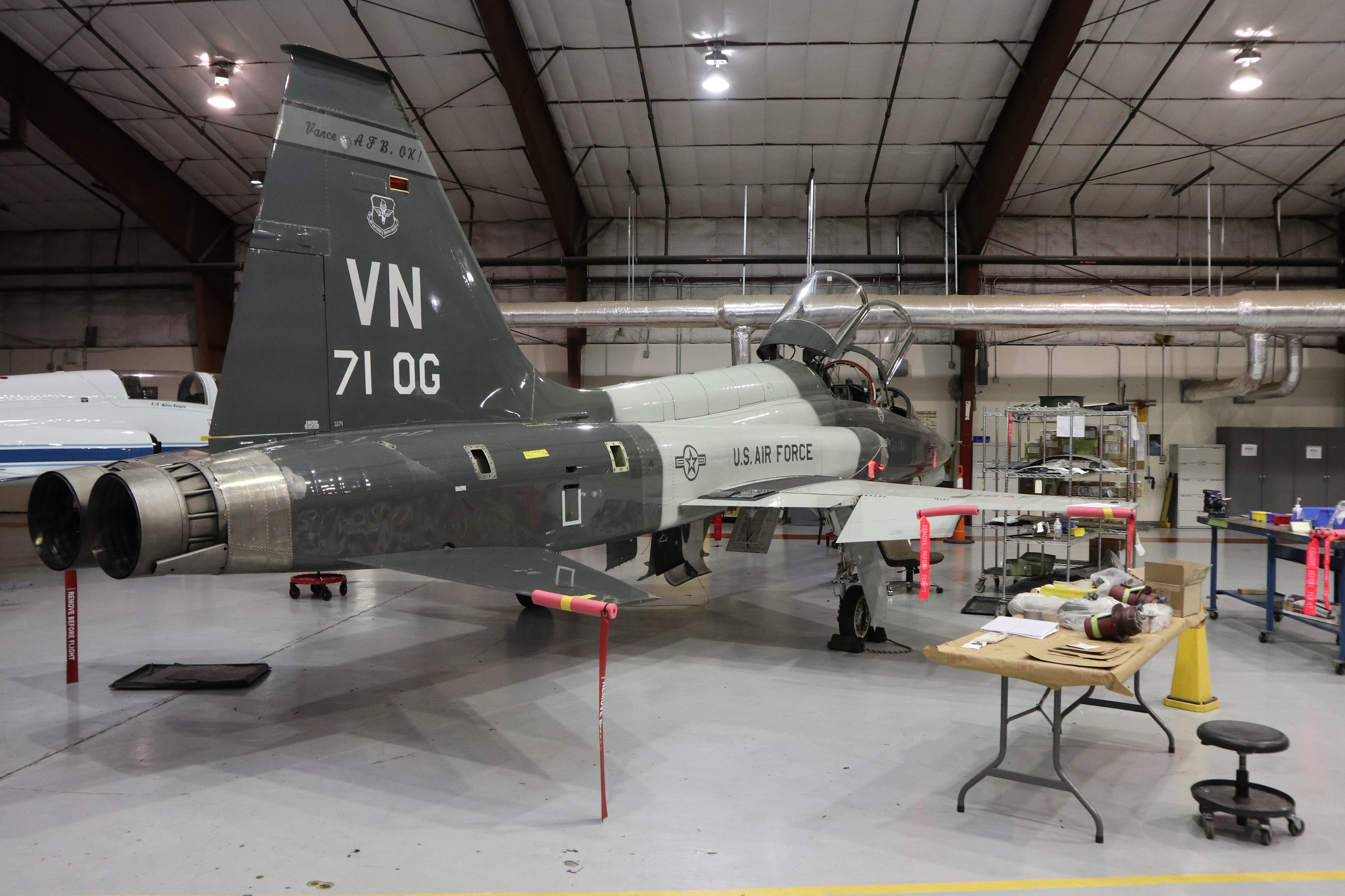 Fixing an Air Force T-38