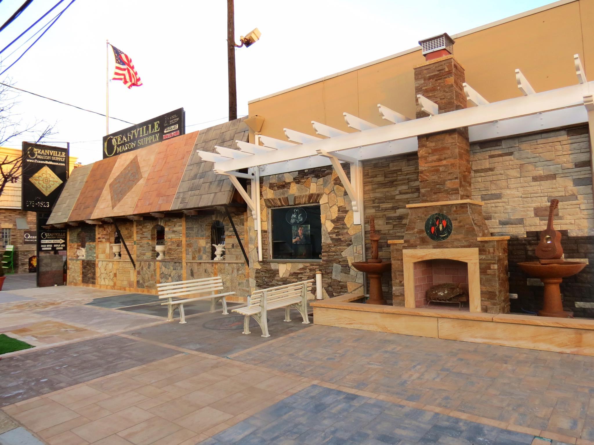 Oceanville Sidewalk display