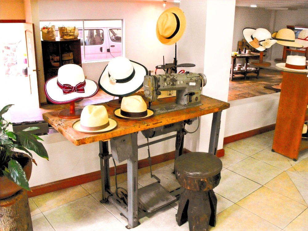 Toquilla Straw Hats at Lazareto District
