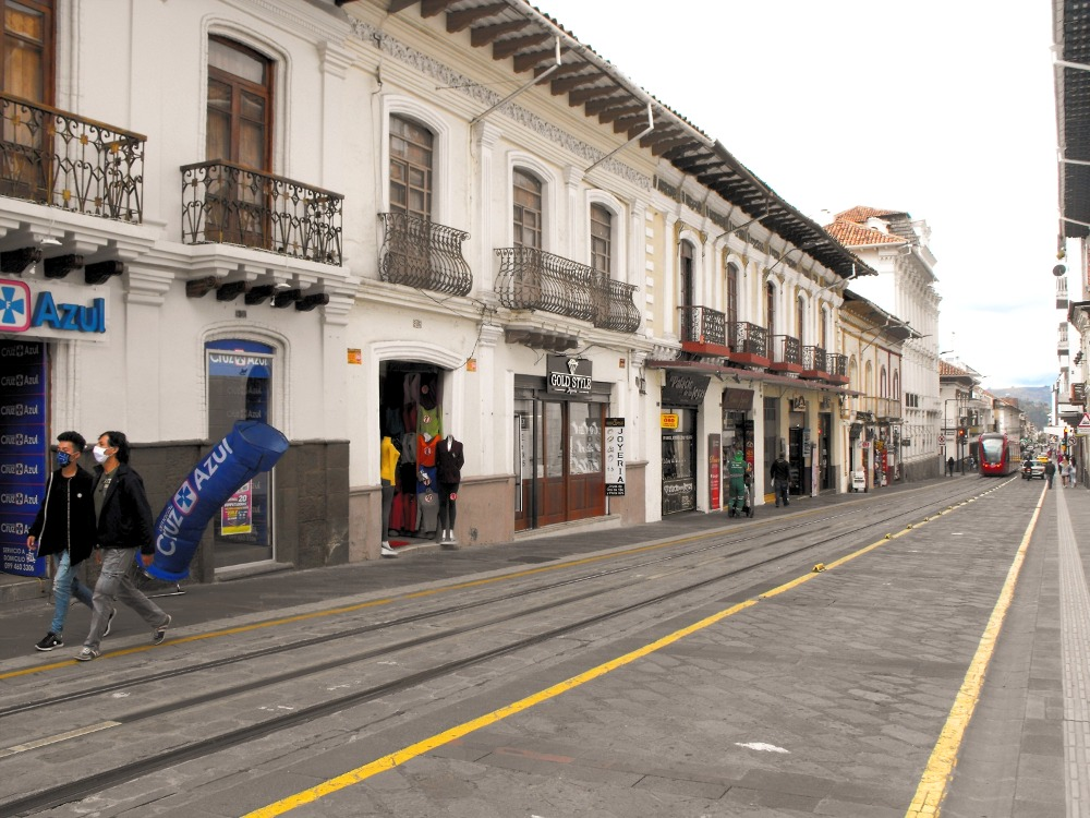 Jewelry Street in Cuenca