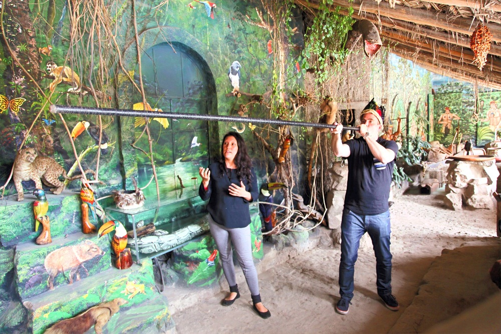 Intiñan Site Museum in the Middle of the World
