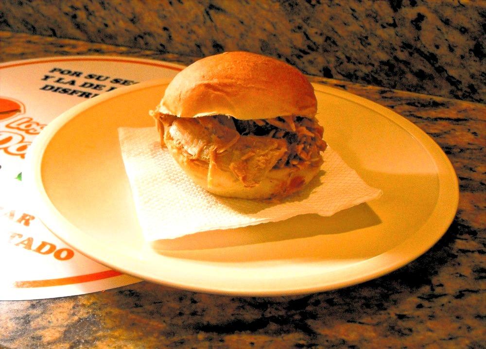 Pork Sandwiches Street
