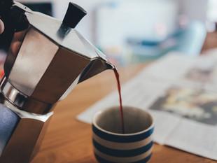 Café de derramamento