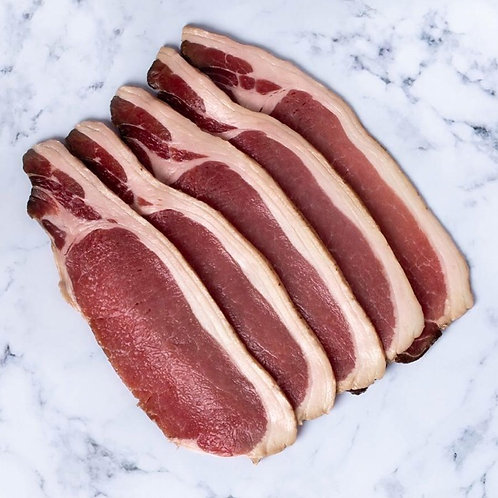 Dry Cured Smoked Bacon - 500g