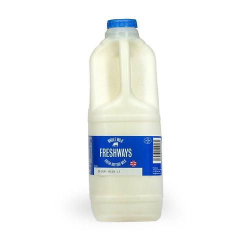 Freshways Full Fat Milk - 2L