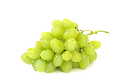 Seedless White Grapes - 500g