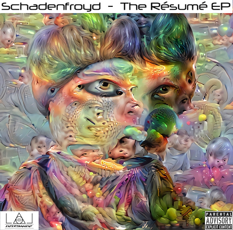 Schadenfroyd - The Resume EP Cover Art -