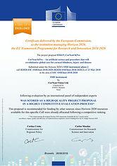 EU Horizon 2020 Seal of Excellence 2018