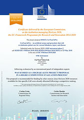EU Horizon 2020 Seal of Excellence 2018