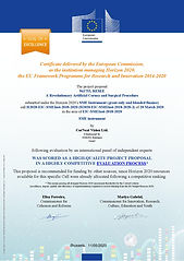 EU Horizon 2020 Seal of Excellence Award 2020