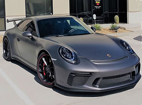 This Porsche has 3M'x FX Premium window tint applied by MasterShield of Palm Desert.