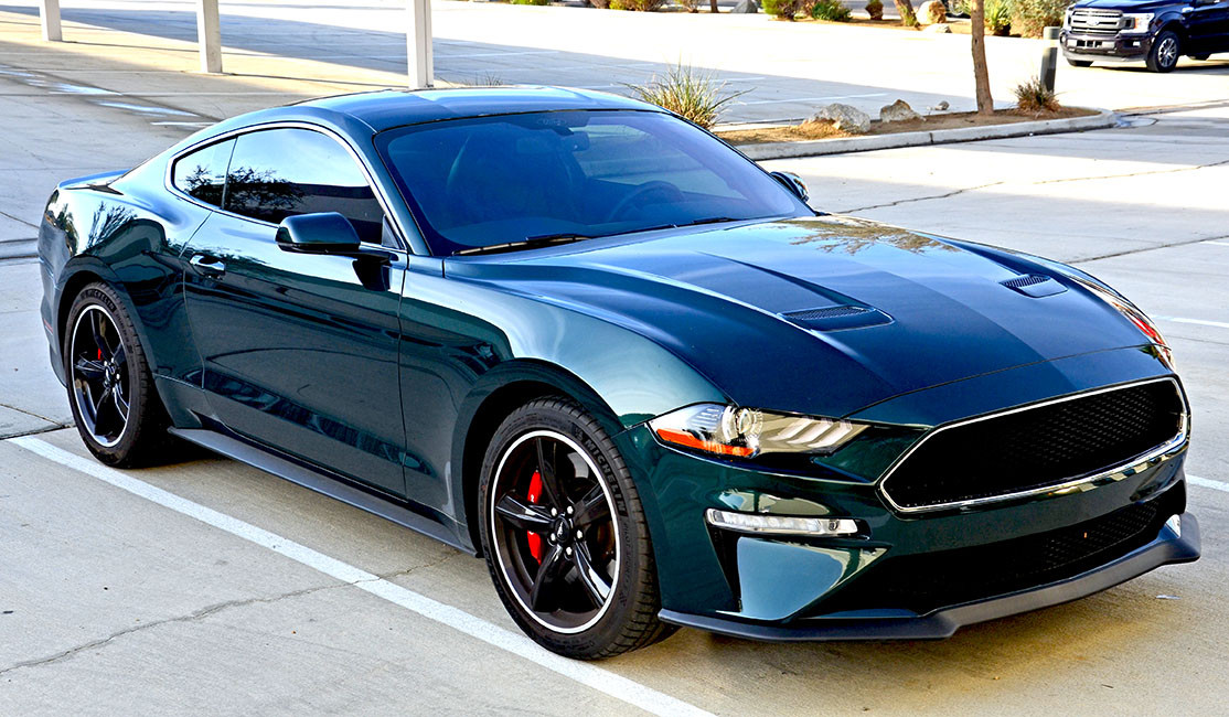 This beautiful Ford Bullitt came to MasterShield for XPEL Paint Protection Film and 3 M Window Tint.