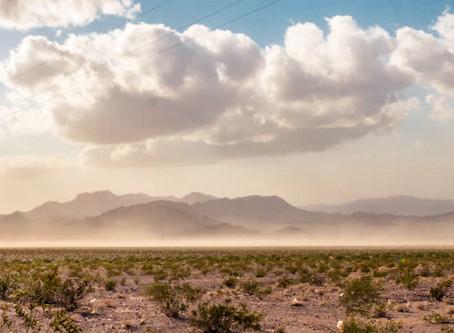 Can sandstorms damage car paint?