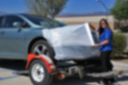 MasterShield Professional Car Transport Wrap and Auto Shipping Protection Film located in Palm Desert, CA.