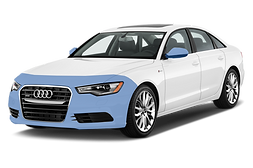 This is a 2015 Audi with Mastershield Paint Protection on it's front bumper and rearview mirrors.