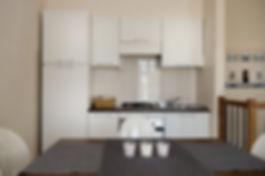 Cucina e Sala da pranzo - Aparthotel Raganella Loreto