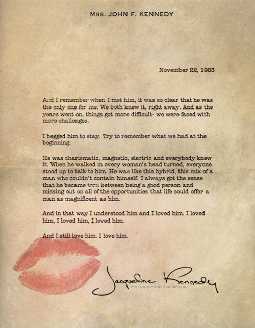 jackie letter