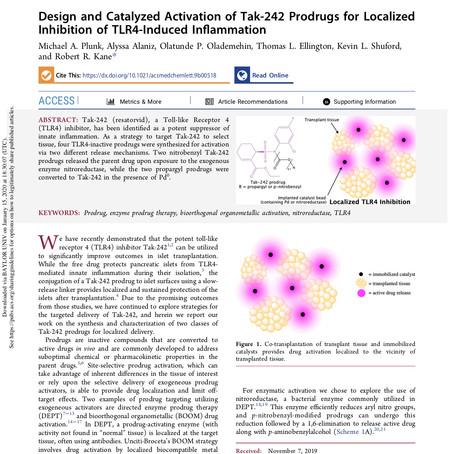 New paper in ACS Med Chem Lett
