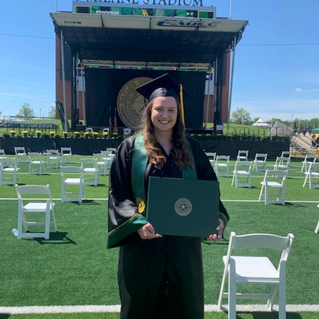 Allie FINALLY Graduates!