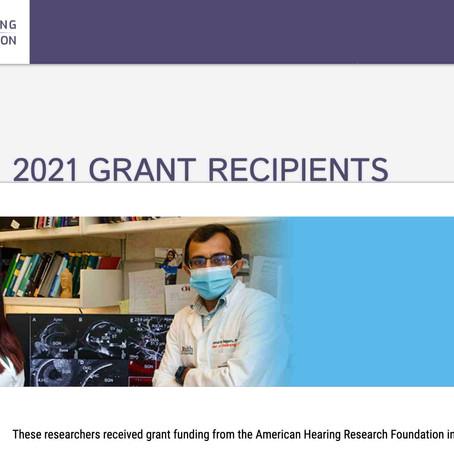 AHRF Grant Press Release