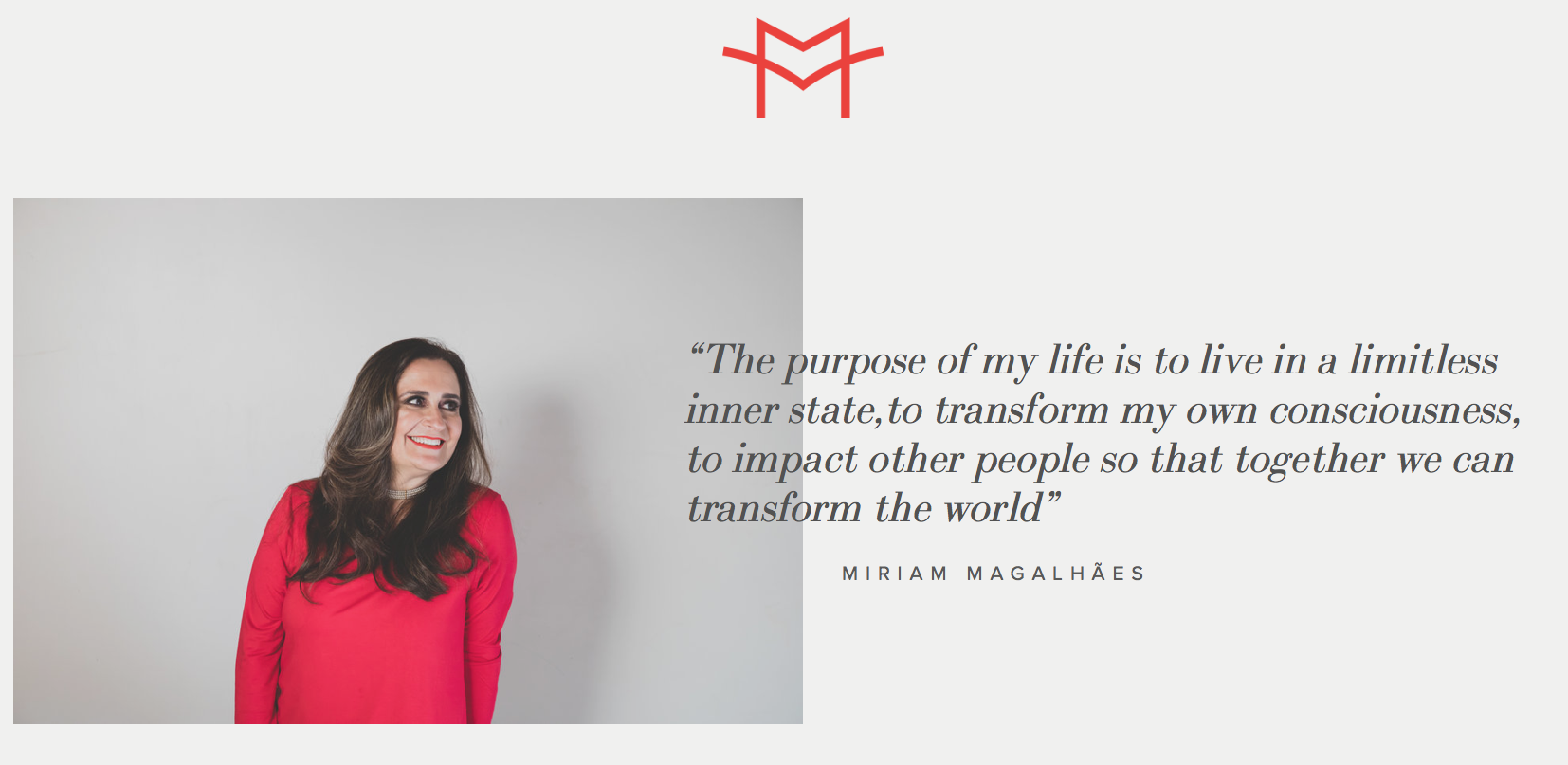 Miriam Magalhães GLOBAL MASTER COACH