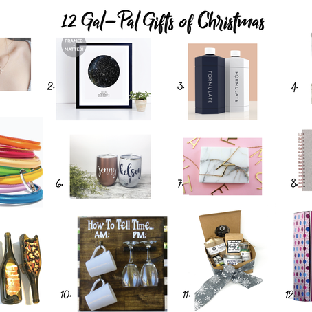 The 12 Gal-Pal Gifts of Christmas