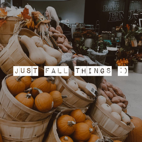 Just Fall Things :)