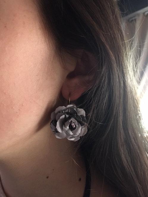 Boucles d'oreilles rose