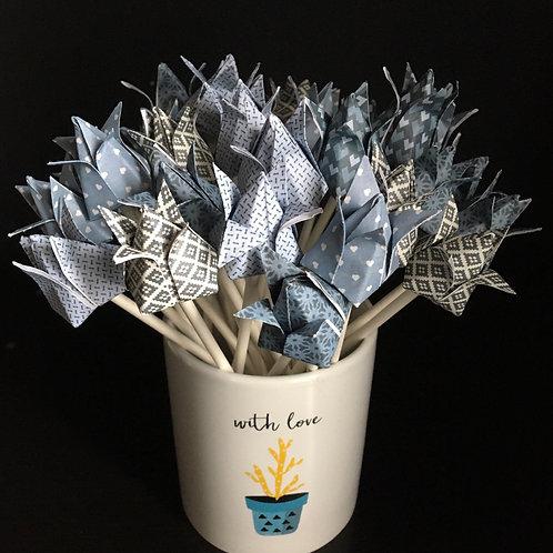 Bouquet de boutons de fleurs de lotus