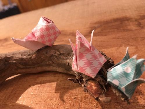 Escargots sur une branche