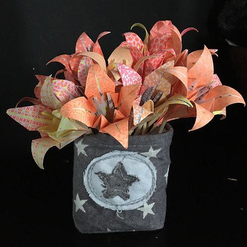 Bouquet de 16 iris