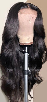 Natural Black Brazilian Body Wave Wig