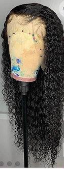 Natural Black Brazilian Deep Wave Wig