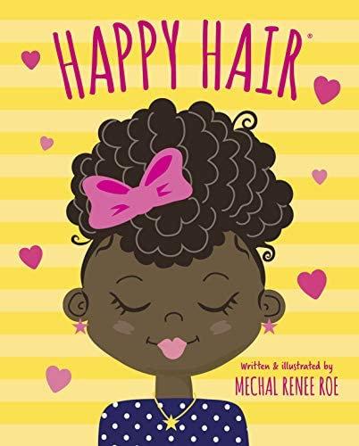 Happy Hair by Mechal Renee Roe [Board Book]