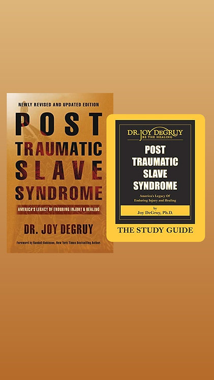 Post Traumatic Slave Syndrome Book w/ Study Guide