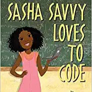 Sasha Saavy Loves To Code -Hardcover