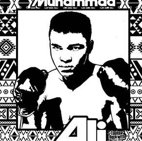 Muhammad Ali Coloring Page