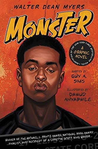 Monster: A Graphic Novel by Walter Dean Myers [Paperback]