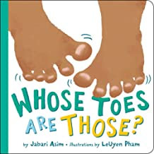 Whose Toes Are Those (Board book)