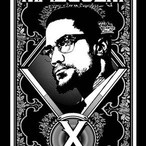 Malcolm X Coloring Page