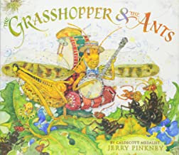 Grasshopper & the Ants by Jerry Pinkney