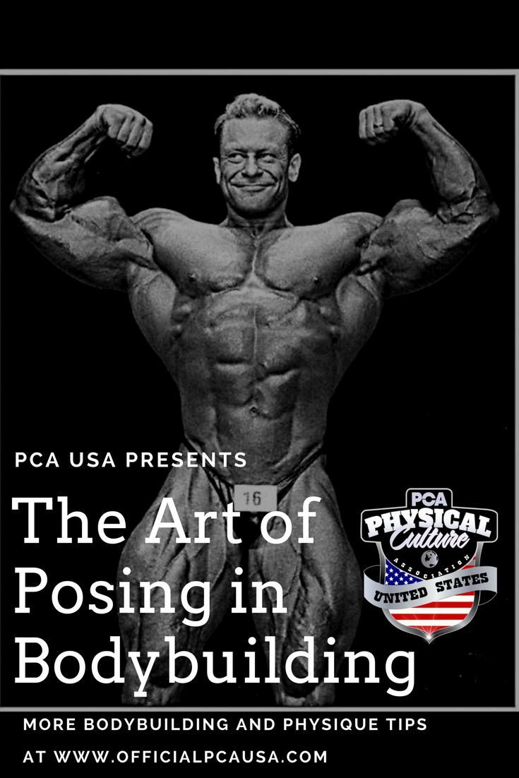 The Art of Posing in Bodybuilding