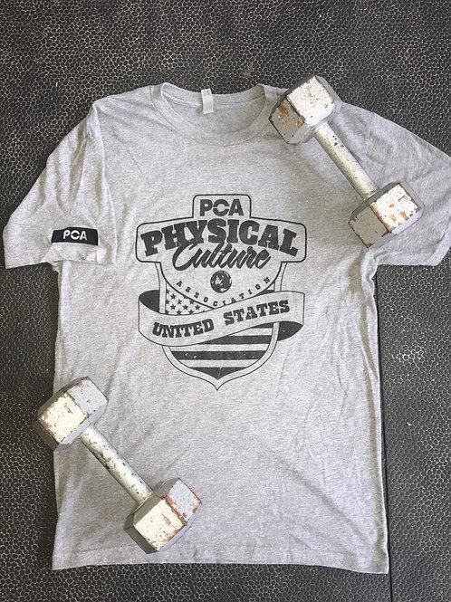 PCA USA on Heather Gray T-Shirt