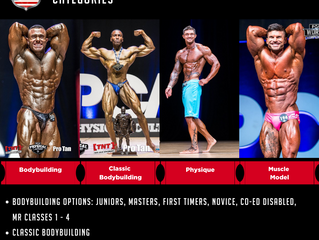 PCA USA Men's Competitive Divisions