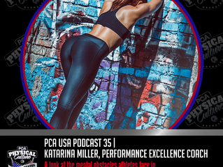 PCA USA Podcast: Episode 35 | Kevin Taylor Interviews Performance Excellence Coach Katarina Miller,