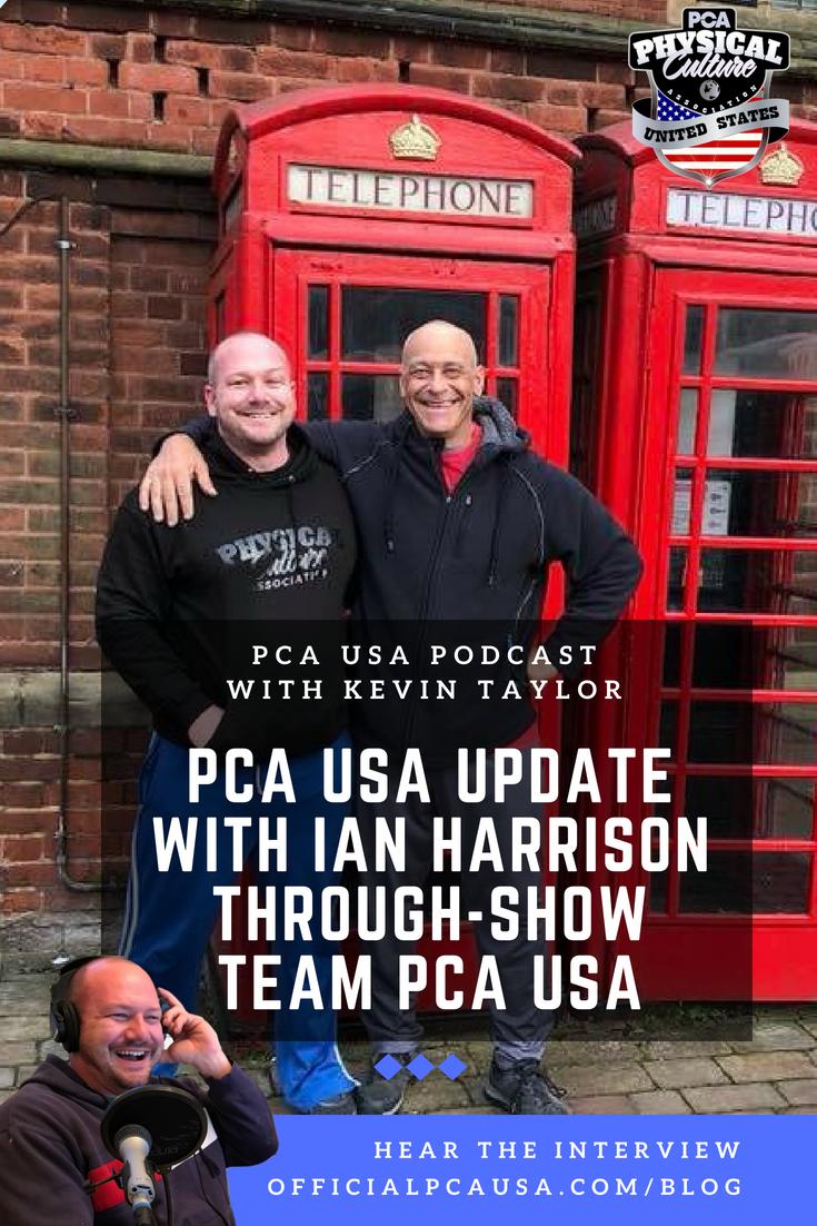 PCA USA Execs Ian Harrison and Kevin Taylor