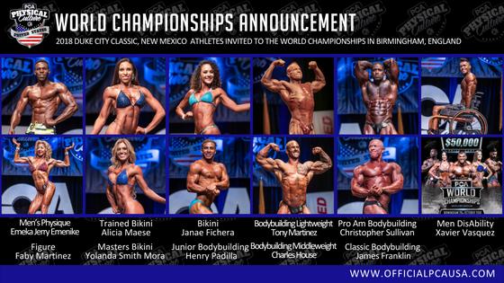 Duke City Classic World Championships Invitation
