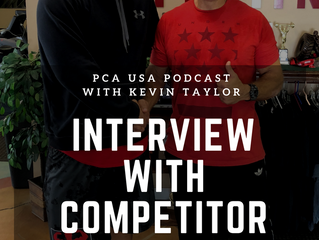 PCA USA Podcast: Episode Eight | An Interview with Tampa, FL Competitor Chad Peace