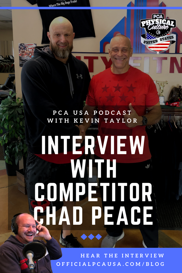PCA USA Podcast Chad Peace